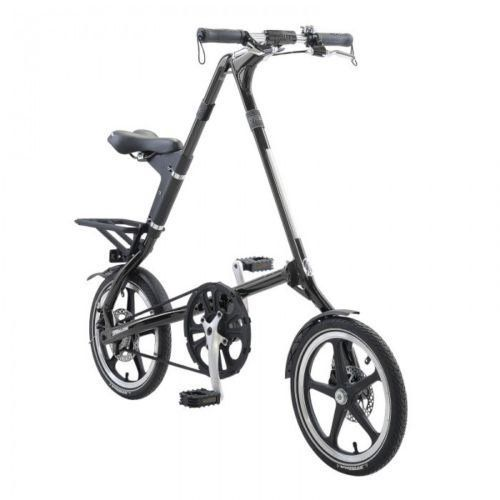 """2015 STRiDA LT Black 16\"""" Lightweight Folding Bike- Open & Fold in 10 Seconds! *** Continue to the product at the image link."""
