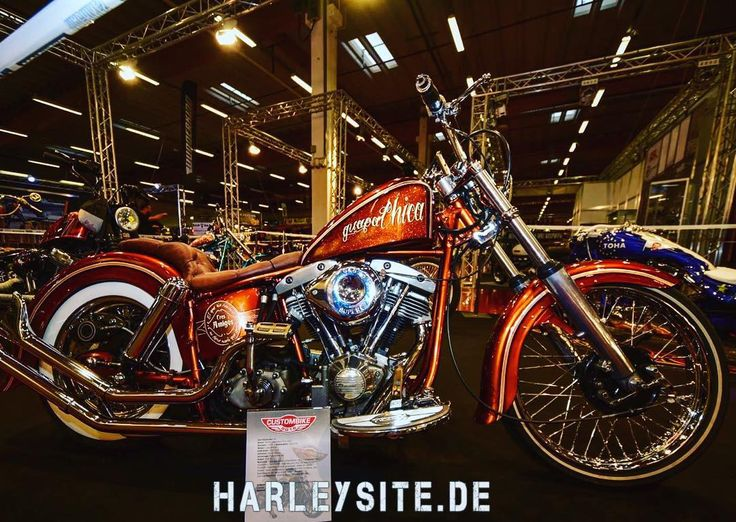 Custombike Show Bad Salzuflen Germany #custom #custombike #harley #harleysite #harleydavidson #badsalzuflen #cbs #dyna #showbike #110cui  #screamineagle