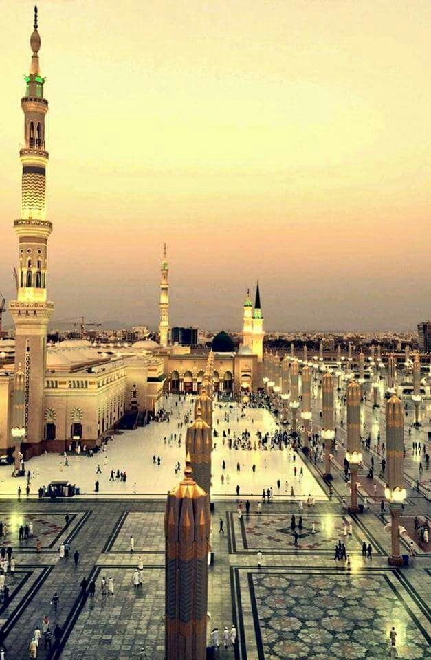 The most loved city on earth, Madinah al-Munawwarah.
