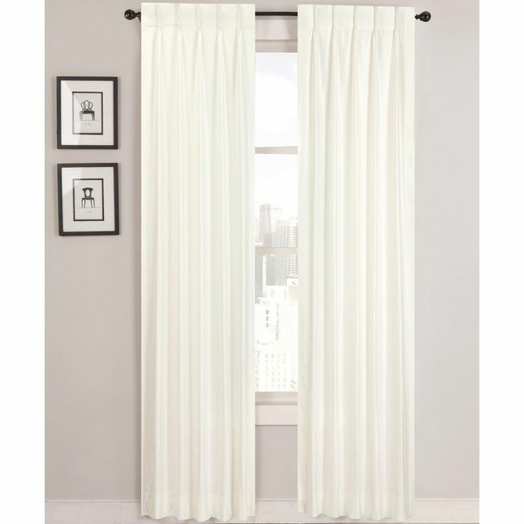 Supreme Palace Pinch Pleat Lined Curtain Panel Pair