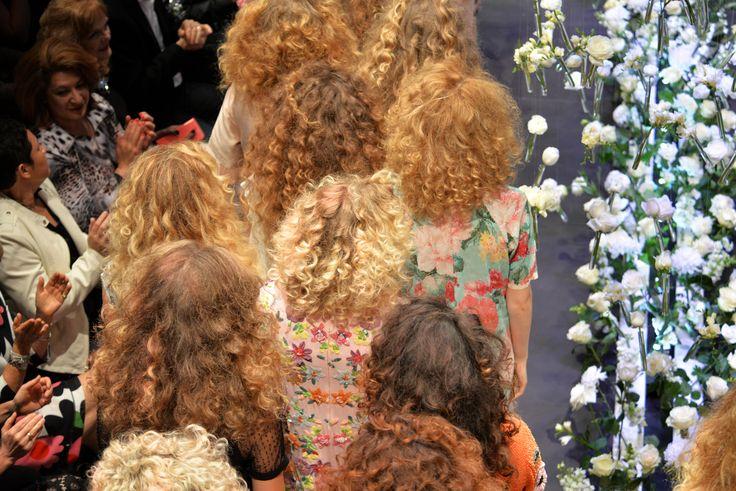 Bettjemans 70's Inspired big hair for Trelise Cooper's 'Theatre of Fashion' 2015. #trelisecooper #runway #Bettjemans #lorealpronz ©royemersonphotography  www.bettjemans.co.nz