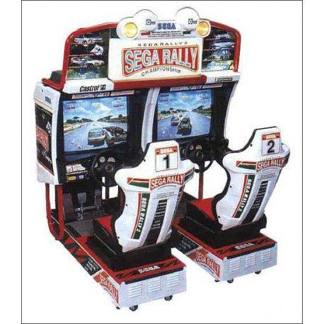 Simulateur SEGA RALLY 2 - 3 600,00 €  #Jeux #Simulateur