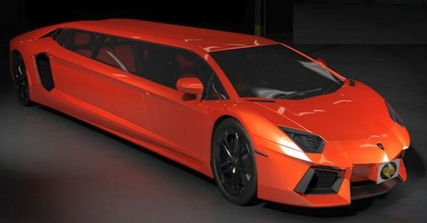 Lamborghini Limousine | ... / Automotive / Lamborghini Aventador Stretch Limo by Cars for Stars
