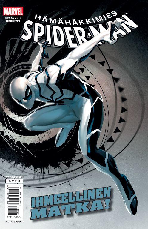 Hämähäkkimies - Spider-Man nro 5/2013. #sarjakuva #sarjakuvalehti #sarjis #egmont