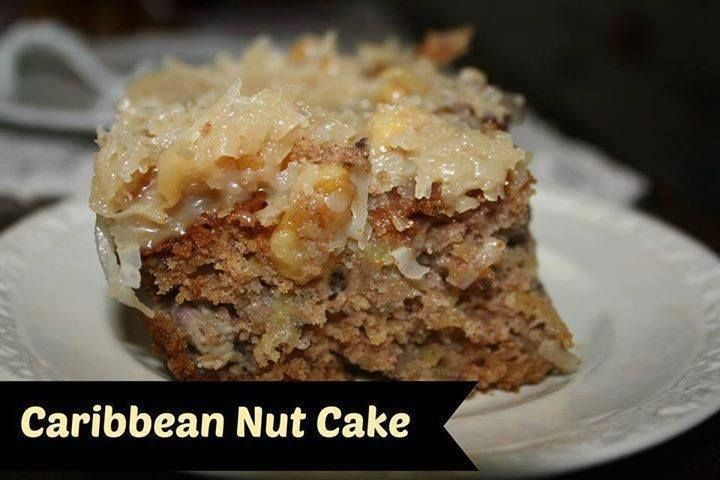 An easy to make nut cake that'll make you wish you were in the Caribbean!