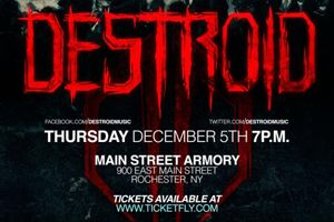 DESTROID ravages Main Street Armory in Rochester Dec 5th. EDM and Electronic Dance Music news on TheUntz.com.