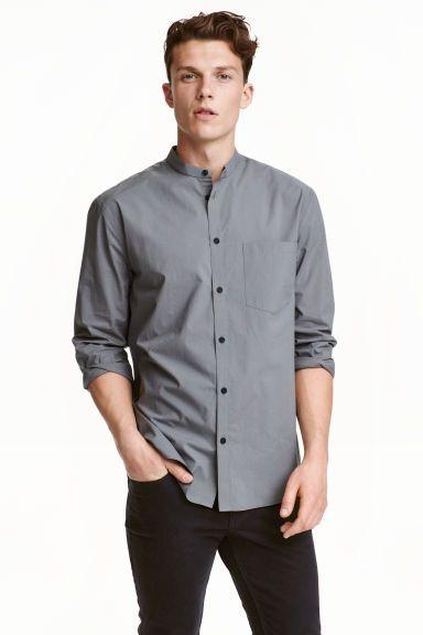 Gallér nélküli ing   H&M