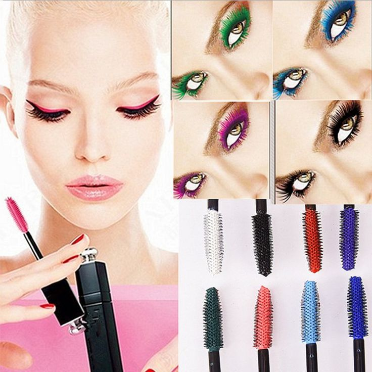 Waterproof Mascara Charm Curling Eyelash Extension Makeup Cosmetic Charming Mascara 8 Colours  For Choice