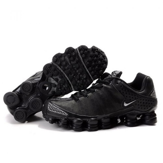 Wonderful Nike Shox TL3 All Black - Silver Men Shoes 1015 For $46.00 Go To: