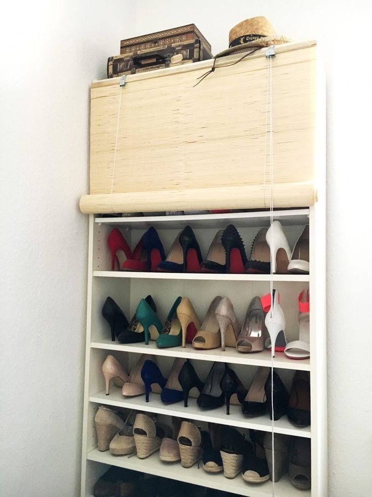 Ikea Hack Shoes Shoeshelf Schuhschrank Schuhregal Billy Hacks Heels Regal Bucherregal Diy Schuhregal Schuhregal Ikea Billy Regal Ideen