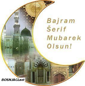 Bajram Šerif Mubarek Olsun svima, Frohes Zuckerfest, Happy Eid ul-Fitr :-).