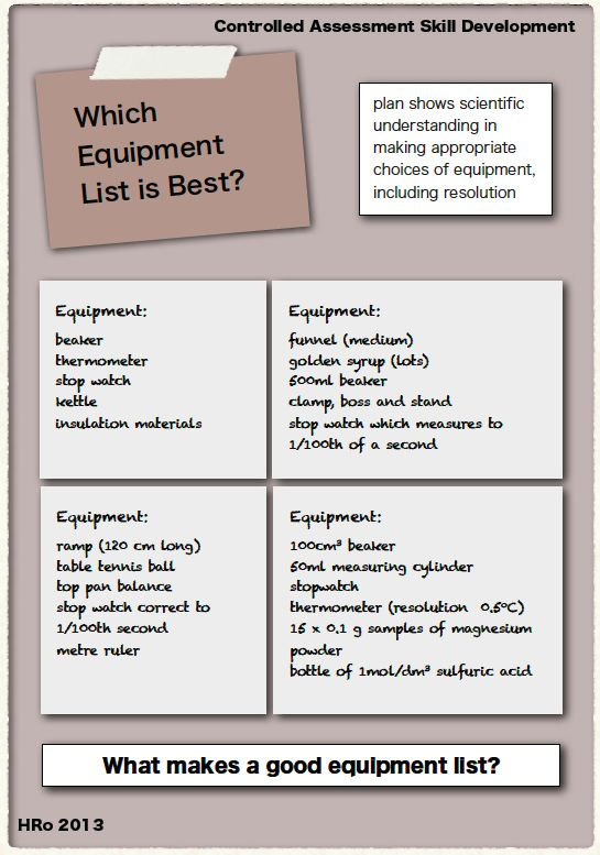 21 best GCSE Physics resources and revision images on Pinterest - equipment list samples