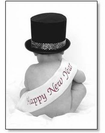New Years.....would be great for a one year picture for a baby that was born around Jan. 1st!