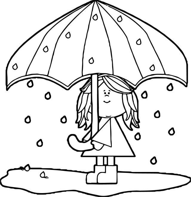 25 Pretty Image Of Umbrella Coloring Page Umbrella Coloring