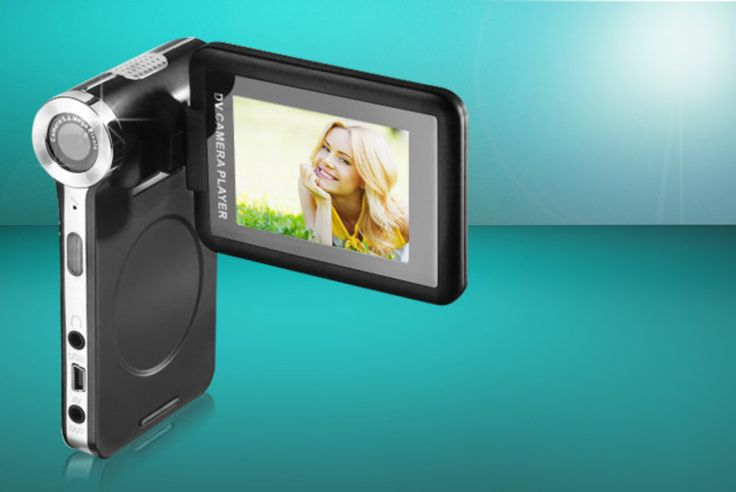 Super-Slim 2.4in Digital Camcorder