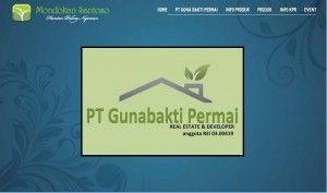 Company Profile Website PT Guna Bakti Permai. Jasa Bikin Website Surabaya  Telp: 031 8477461 HP. 085748226395 dan 085100552565 Email: admin@ririsaci.com CV. RIRISACI MEDIA