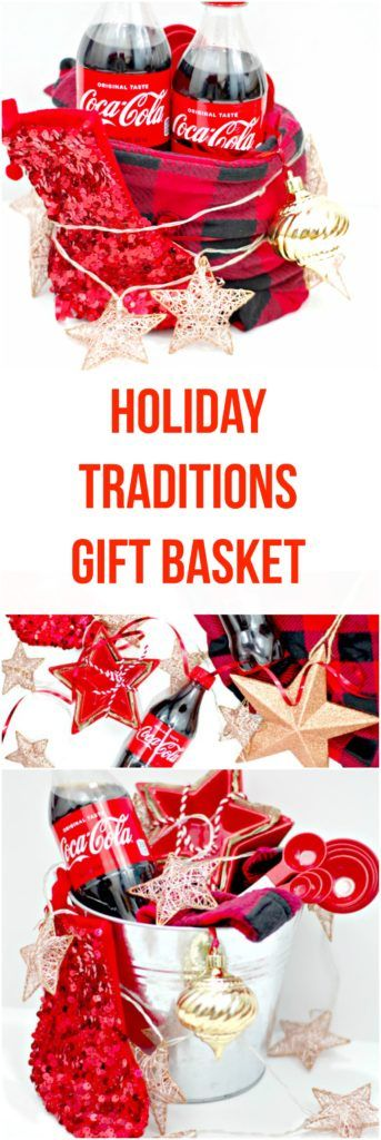 Holiday Traditions Gift Basket! Make a basket filled with your holiday traditions for family and friends.