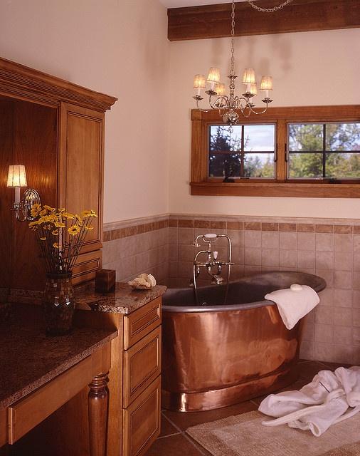 1000 ideas about copper tub on pinterest tin shower. Black Bedroom Furniture Sets. Home Design Ideas