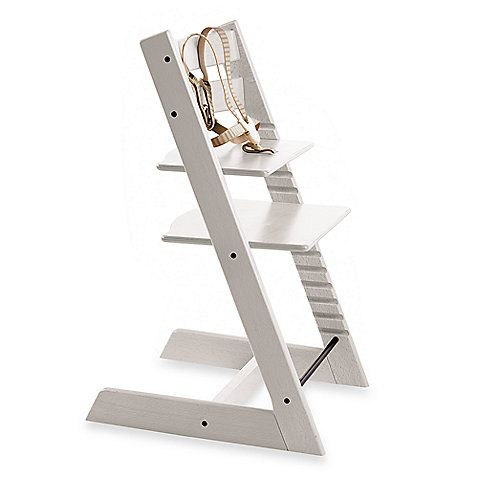 Stokke 174 Tripp Trapp 174 Highchair In White With Images