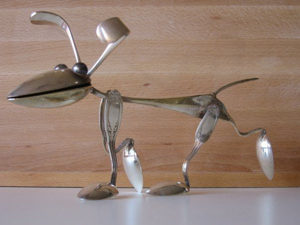 cutlery dog                                                                                                                                                                                 More