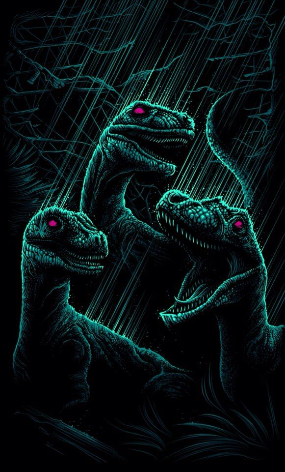 Love Park Iphone Wallpaper : Dan Mumford - Jurassic Park-inspired piece, dinosaurs ...