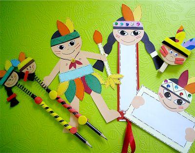 EDUCAR COM ARTE: Ideias: Dia do Índio