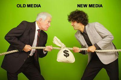 old media vs new media