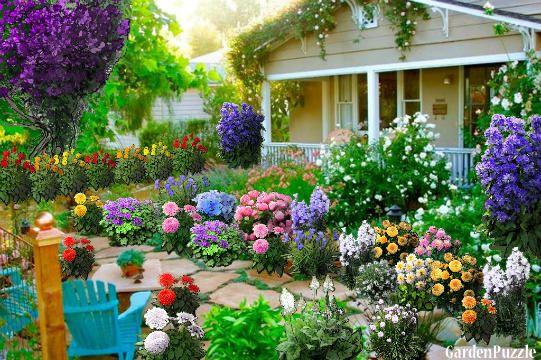 Grandma's House - GardenPuzzle - online garden planning tool