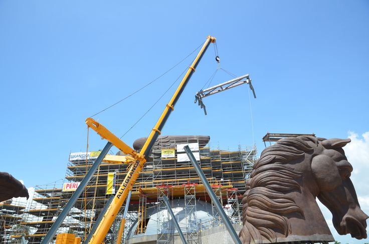 Call us for all your heavy equipment rental needs! #allegiancecrane #crane #pegasus #construction #constructionequipment