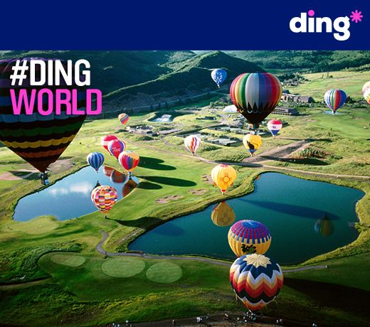 This beautiful picture is of New Mexico in the USA! #dingworld