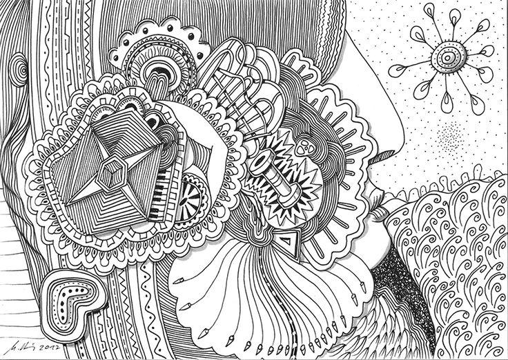 """""""piano players nightmare"""", #Zeichnung #Pigmenttusche (Staedtler Pigment Fineliner) auf #Hahnemühle #Papier """"Nostalgie"""", 190 g/m2 21 x 29,7 cm, © #matthias #hennig 2017    """"piano players nightmare"""", #india #ink #drawing (Staedtler Pigment Fineliner) on Hahnemühle #paper """"Nostalgie"""",190 g/sqm 21 x 29,7cm, © #matthias #hennig 2017 #myStaedtler #hennigdesign #artwork #moremoneyforartists #iwantmore"""
