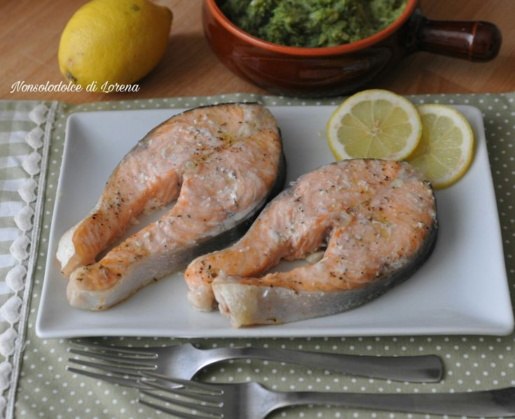 Tranci di salmone al forno (ricetta facile e veloce)