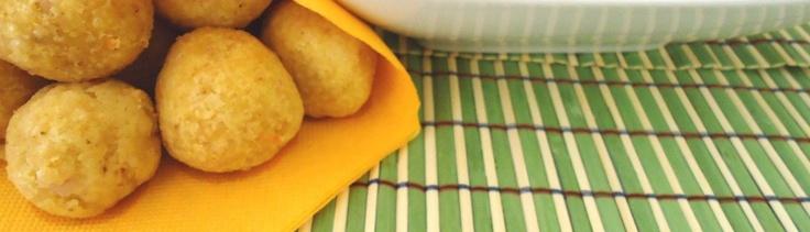 Crocchette di polenta con prosciutto cotto e formaggio Asiago
