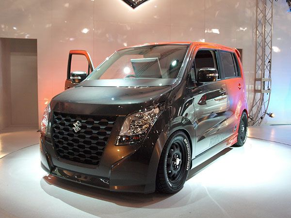 Awesome car modification turning a humble suzuki wagon R ...