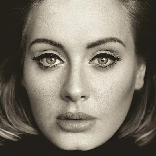 Adele '25' Album Cover