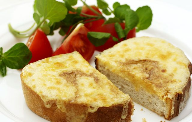 Welsh Rarebit - no St David's Day board would be complete without it. Yum, yum, yum.