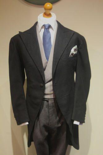 1920s Bespoke Morning coat tails - size 42 regular