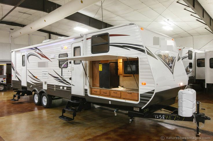 New 2014 30fbss Slide Out Bunkhouse Travel Trailer Outdoor