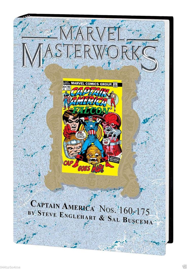 #Marvel #masterworks #231  captain america #volume  #8 dm variant hard cover new!,  View more on the LINK: http://www.zeppy.io/product/gb/2/401202396501/
