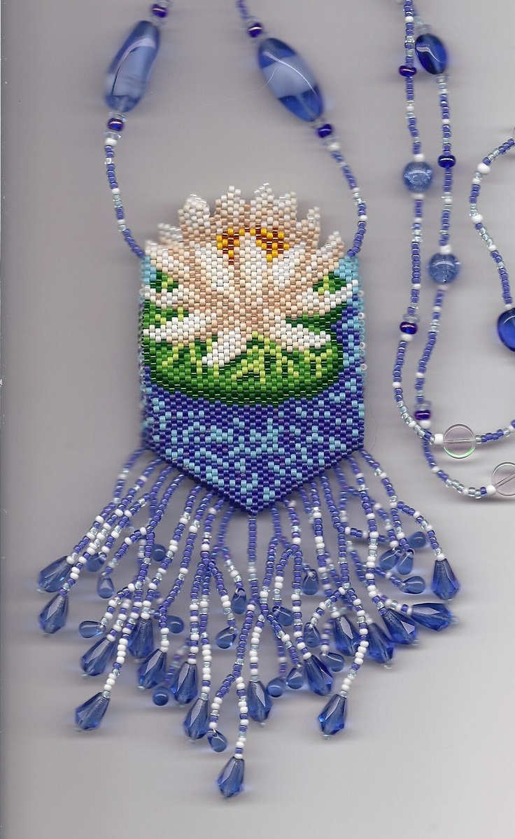 Water Lily Amulet Bag