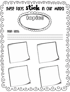 Sarah's First Grade Snippets: reading nonfiction using sticky notes (freebie included)