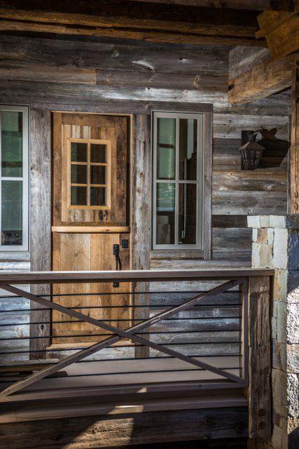L & L Reclaimed Wood LLC. Custom door and siding.