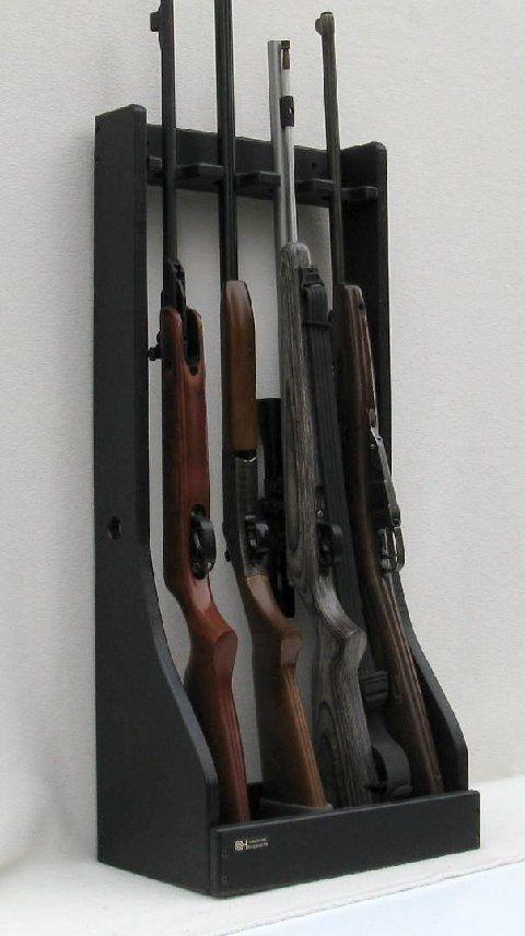 Nerf gun/light saber rack