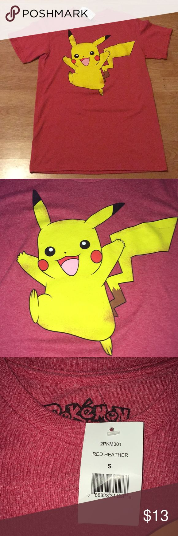 BNWT Pokémon Picachu T-Shirt BNWT  Never worn Pokemon Shirts