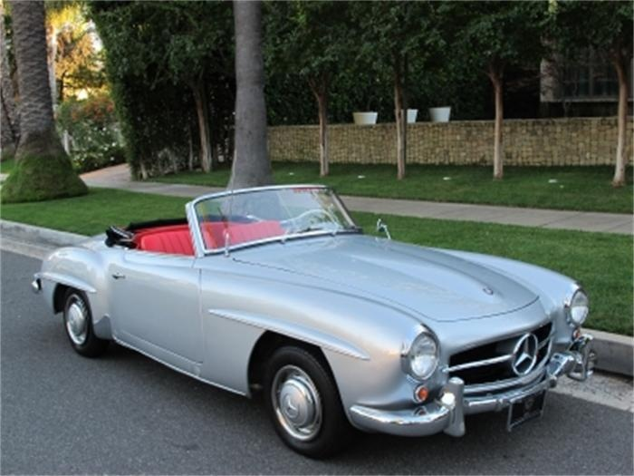 classic mercedes silver convertible 50 shades of what pinter. Black Bedroom Furniture Sets. Home Design Ideas
