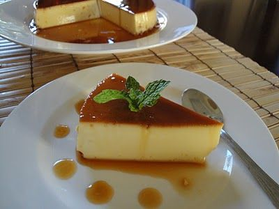 The Spices Of Life . . .: Kem Flan (Vietnamese Crème Flan) with condensed milk