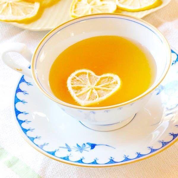 Чай с лимоном открытка прикольная, конференцию