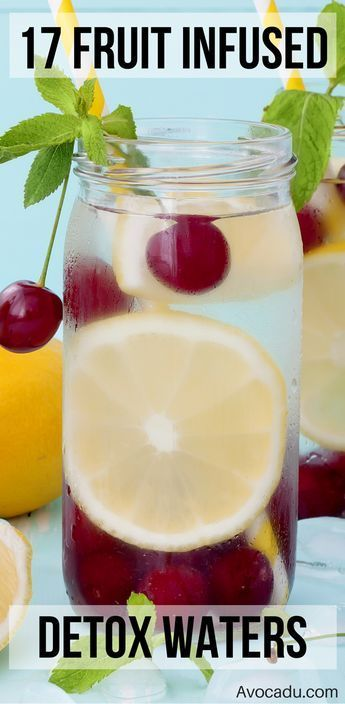 These fruit infused waters will help you stay hydrated, get tons of nutrients, a…