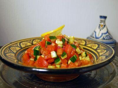 モロッコのトマトサラダ