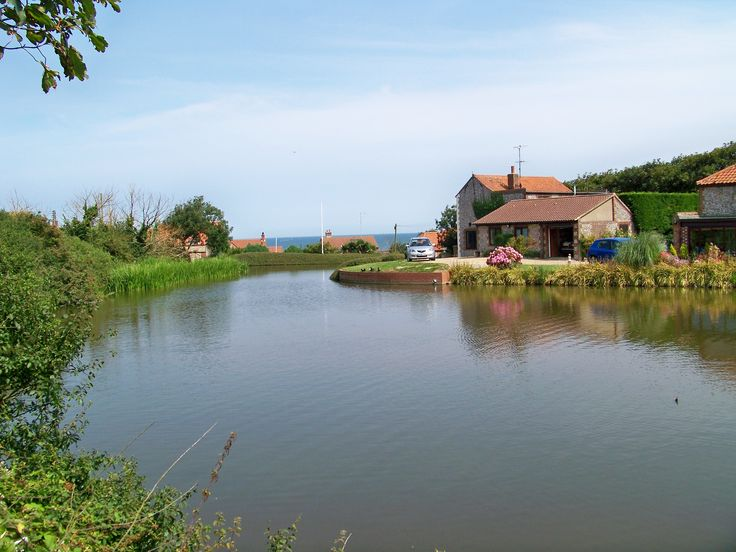The Mill pond in Mundesley dell